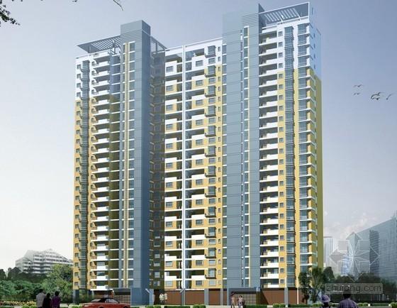 33层框架结构住宅楼建筑安装工程造价指标分析(含地下室)