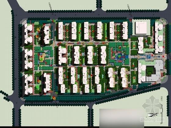[广西]现代生态亲民小区公园景观设计方案(北京著名公司)