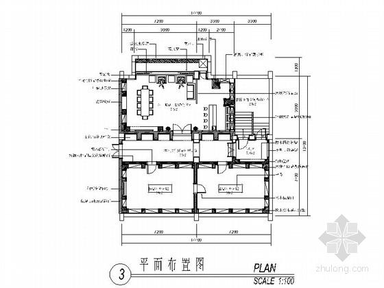 低调惬意美式风格地下酒窖设计施工图(含高清效果图)