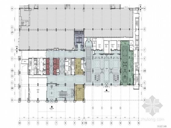 [湖北]五星级酒店室内装修概念设计方案