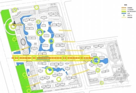 超高层住宅及商业建筑分析图