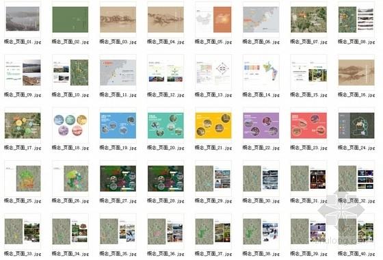 [山东]高品质养生型风景度假区规划设计方案文本-总缩略图