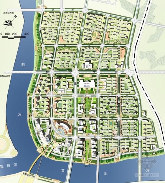 性爱城市图片-图片网_[内蒙古]沿江城市核心地块概念性规划设计方案文本