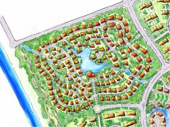 [辽宁]复合型国际温泉小镇景观概念总体规划