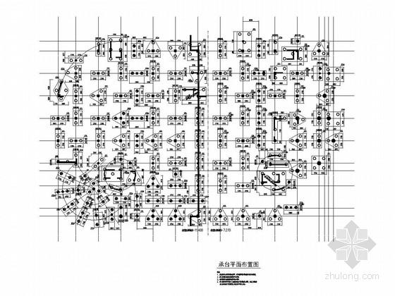 [福建]地上七层框架结构图书馆结构施工图(含钢结构)