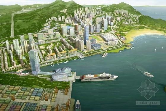 [江苏]港口城市CBD商务核心区规划设计方案文本(200多张图纸 推荐下载)