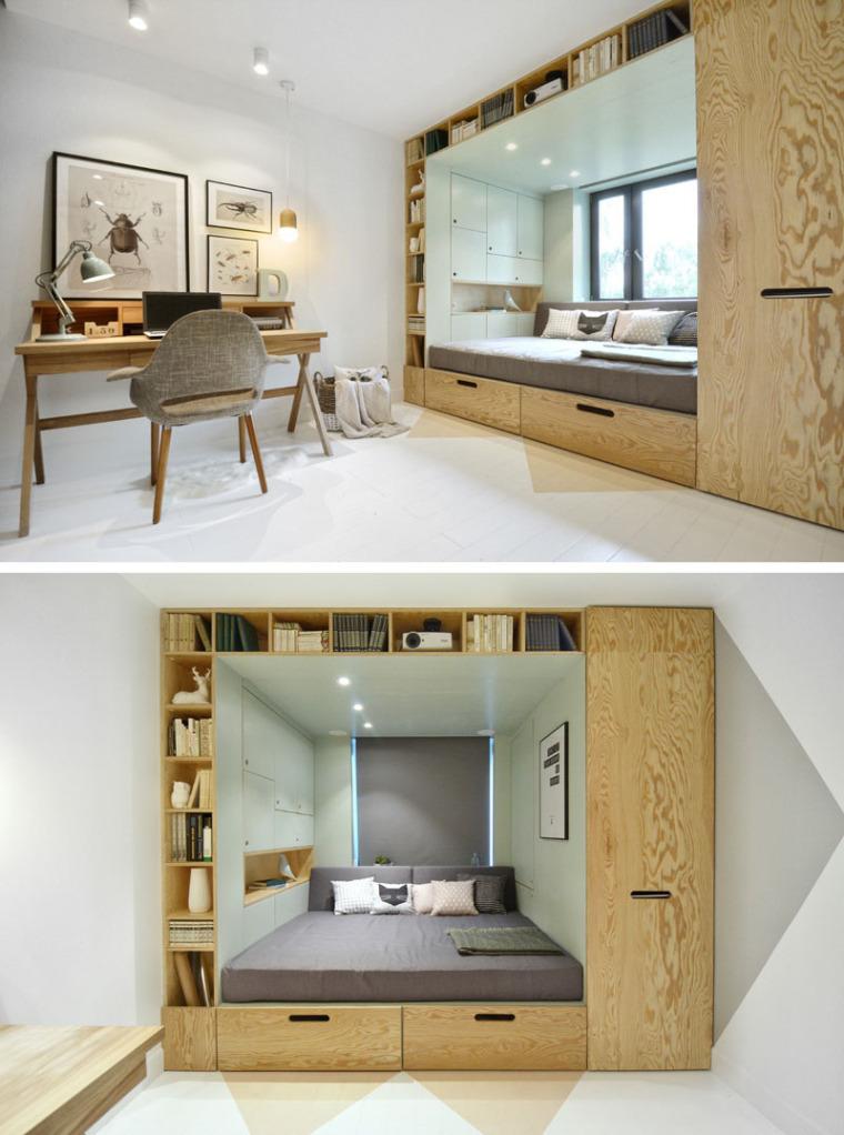 谁说青少年卧室最难设计?呶这里有14个例子_12