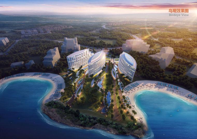 [美国]超豪华!夏威夷酒店公寓建筑设计方案文本