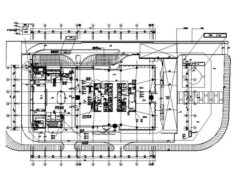 上海二十一层大型办公楼给排水施工图