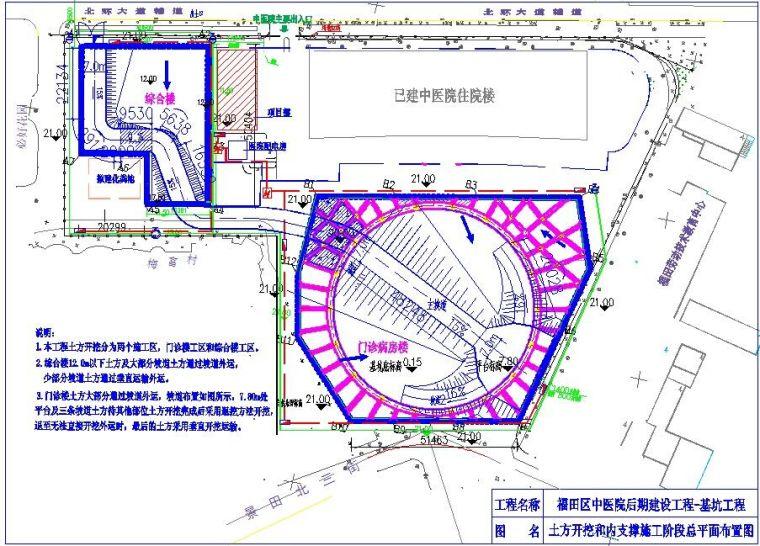 [广东]超大超深基坑开挖支护施工组织设计(土钉墙及桩锚支护)