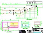 地下二层岛式站台地铁车站设计图106张CAD