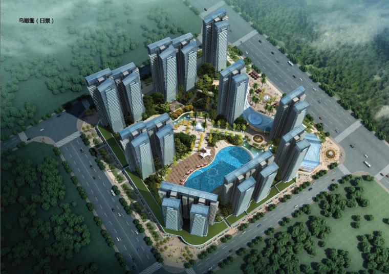 [广西]高档典雅风格生态住宅建筑设计方案文本