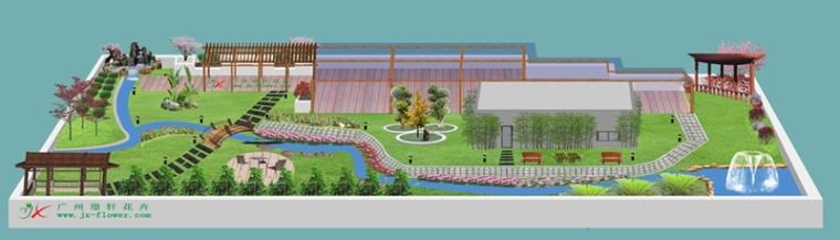 天台花园设计实例分享——璟轩花卉