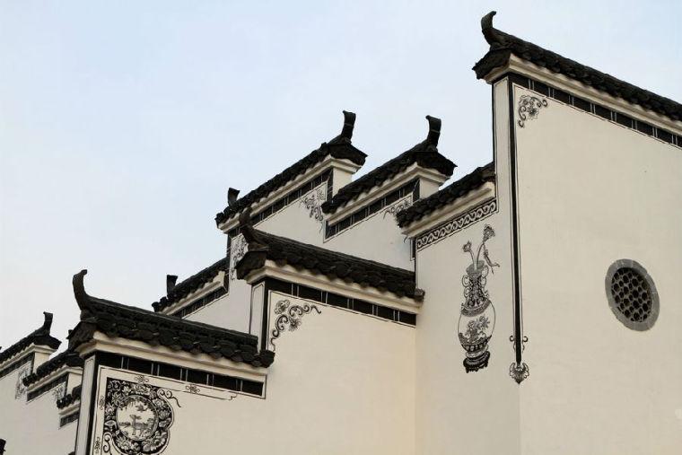 中国著名的建筑六大门派。