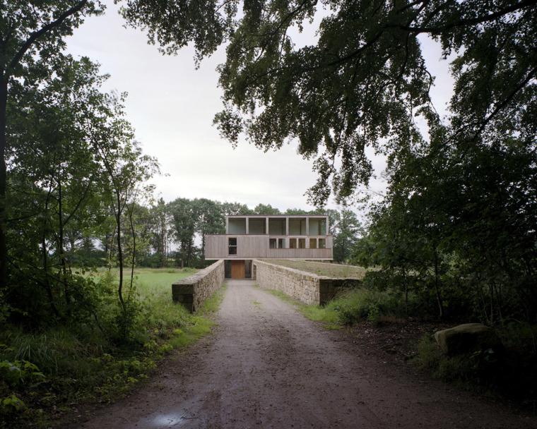 Valkenberg庄园中的住宅资料下载-荷兰Valkenberg庄园中的住宅