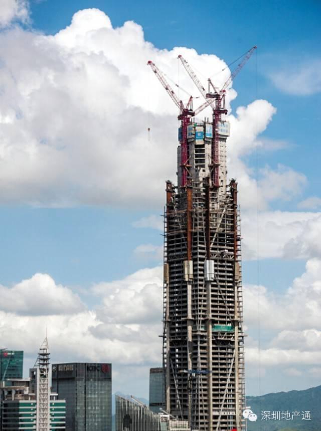 [ 纯技术文] 解密: 深圳平安金融中心结构设计及施工技术