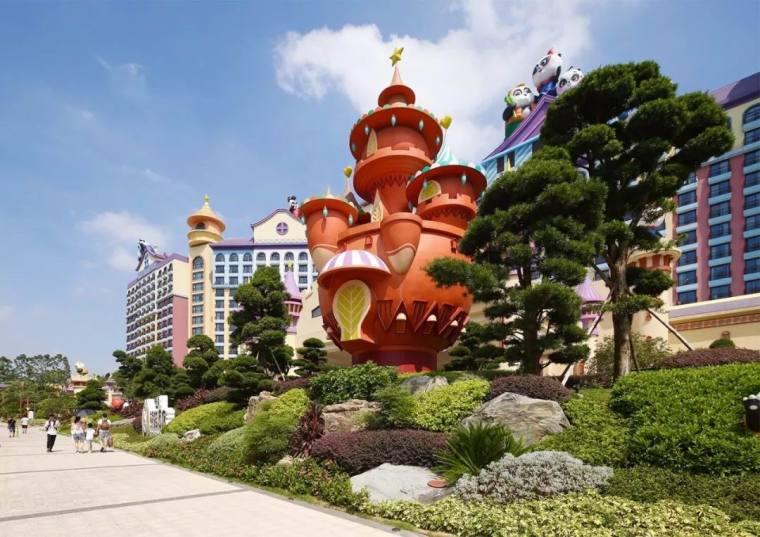 广州长隆熊猫酒店周围景观-7
