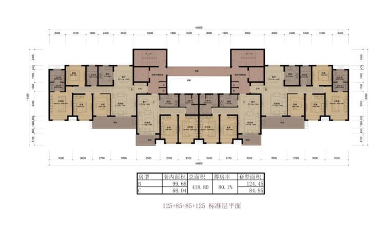 [江苏]33层住宅及多种社区商业及配套服务功能一体化商业综合体_8