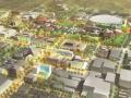 [美国]雪域大学景观概念方案设计(活力,学术)