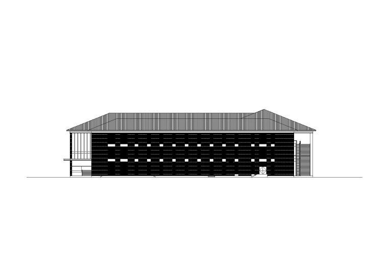 [河南]北方某高校食堂建筑施工图(CAD)