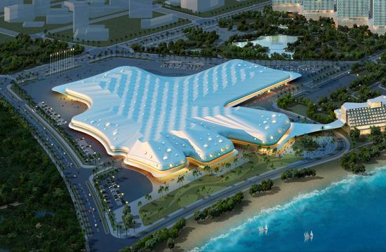 效果图-海南国际会展中心第1张图片