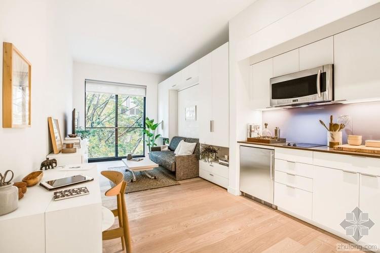 """人多地贵,纽约第一次推出不到35平的""""微型公寓"""""""