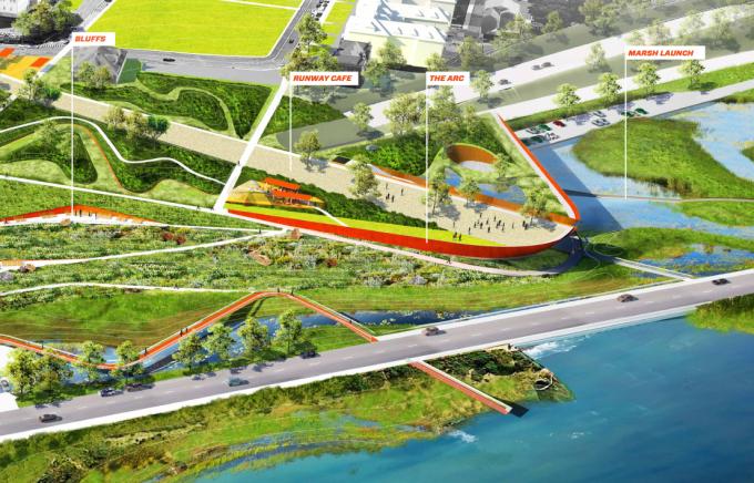 [美国]绿色生态城市门户湿地公园景观设计方案(英文文本)