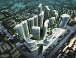 [湖北]铜锣湾广场园林式商业综合体设计文本