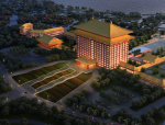 [云南]五星级中式风格大酒店建筑设计方案文本