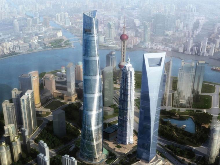 地标性超高层塔楼外幕墙工程施工技术总结