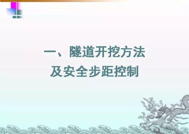 隧道工程施工方法图文详解!(建议收藏)