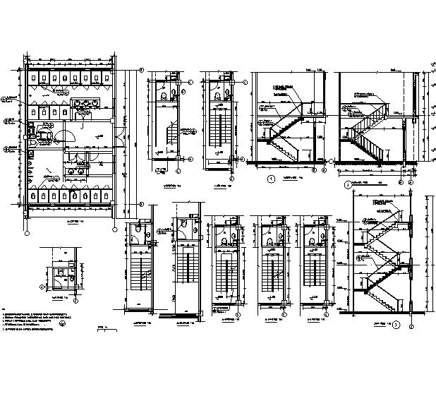 [辽宁]18栋商贸楼建筑施工图(含机电——结构图纸)_11