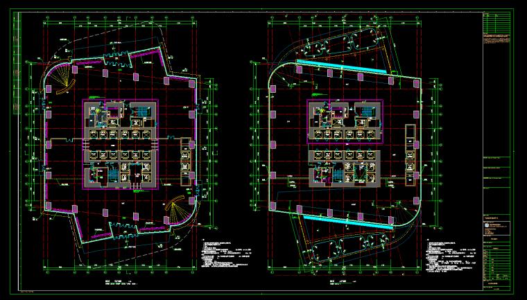 建筑设备监控平面图