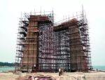 可调式钢拉杆型钢悬挑脚手架在高层建筑施工中的应用