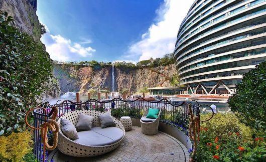 投入20亿的工程奇迹深坑酒店终于开业了,内部设计大曝光!_56