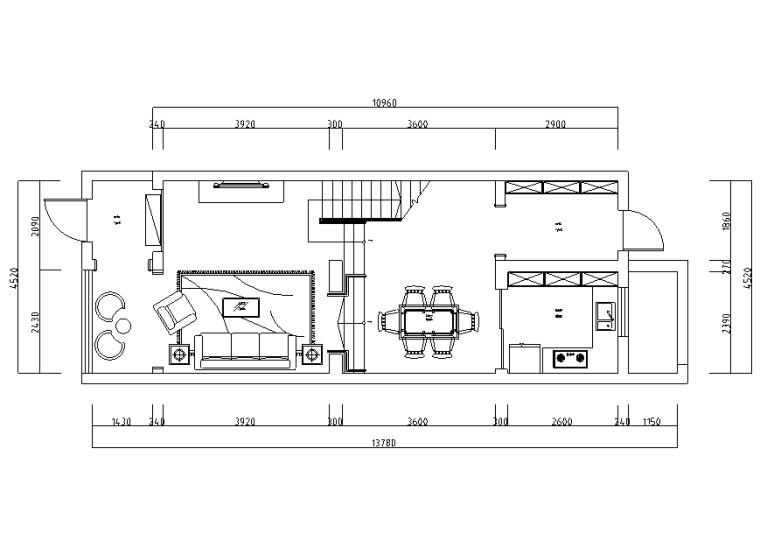 古典优雅风漫生活别墅设计施工图(附效果图)