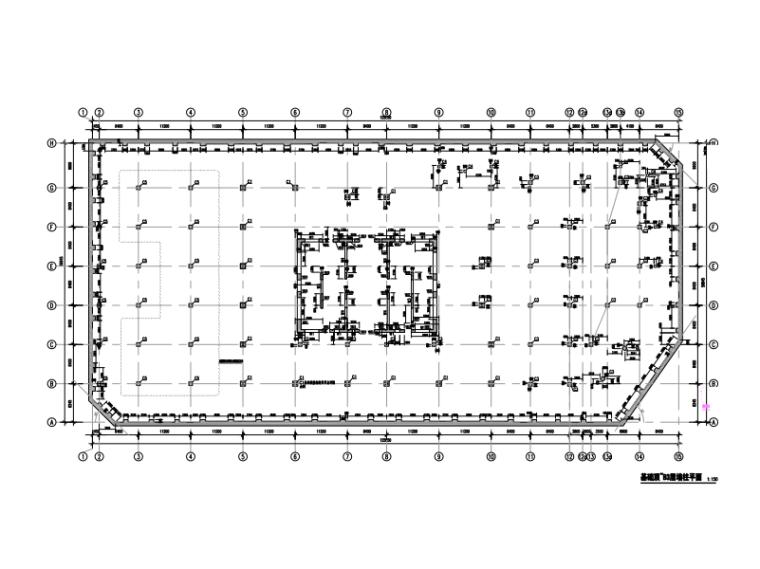 复杂结构超高层大厦结构施工图(2016)