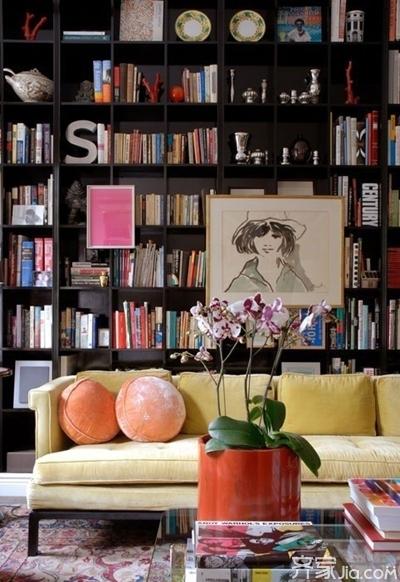 大面积书房设计 随时让精神旅行