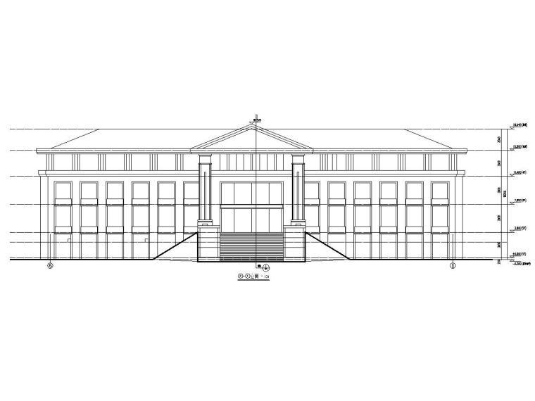 山西某坡屋顶框架结构施工图(含建施、结施)