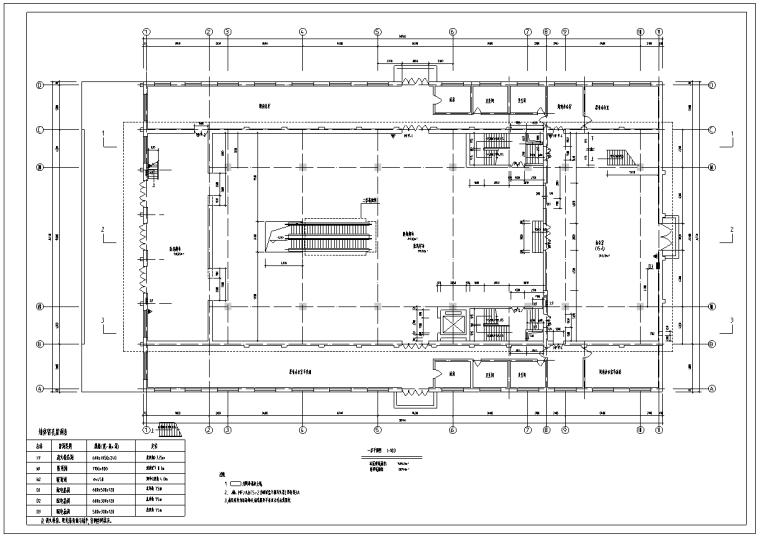大型药店采暖通风空调及防排烟施工图