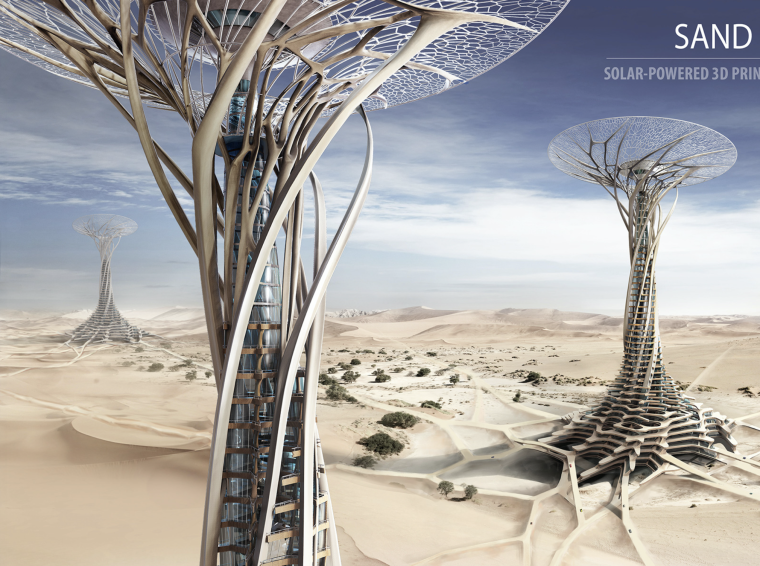 2014摩天大楼设计竞赛eVoloSkyscraperCompetition获奖作品