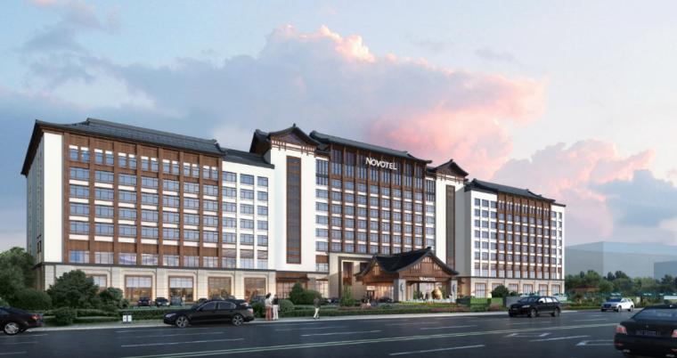 [江苏]无锡万达四星级酒店建筑设计方案文本