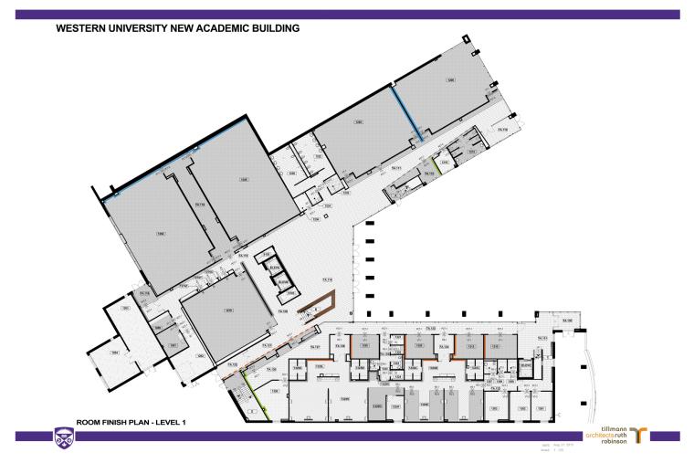 西安大略大学护理学院与信息媒体研究院教学楼-18