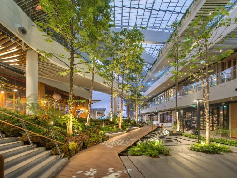 泰国MegaFoodwalk步道景观
