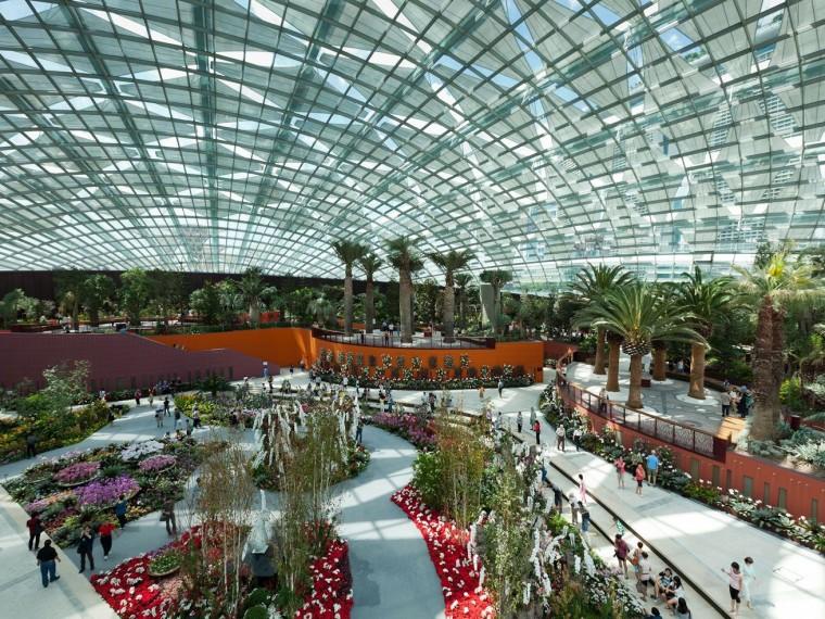 新加坡世界级超级温室花园