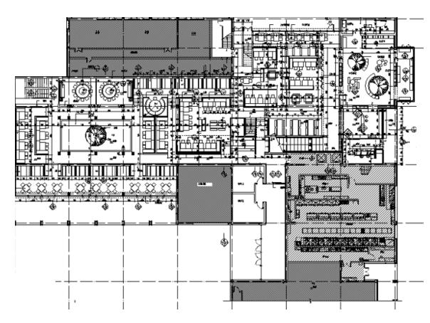 [浙江]西溪天堂外婆家餐饮空间设计施工图(附效果图)