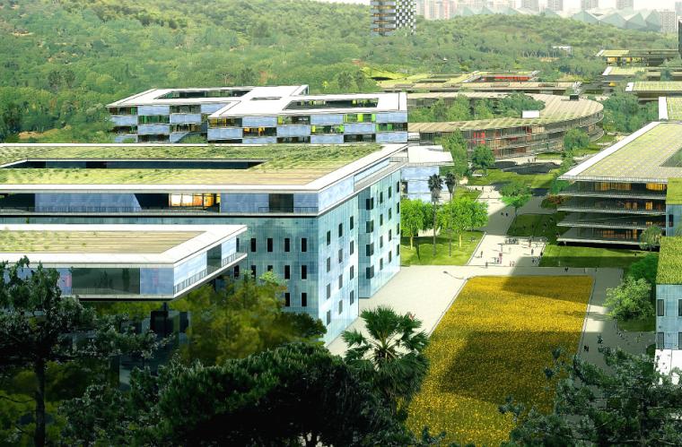 [广东]香港中文大学建筑规划设计方案文本