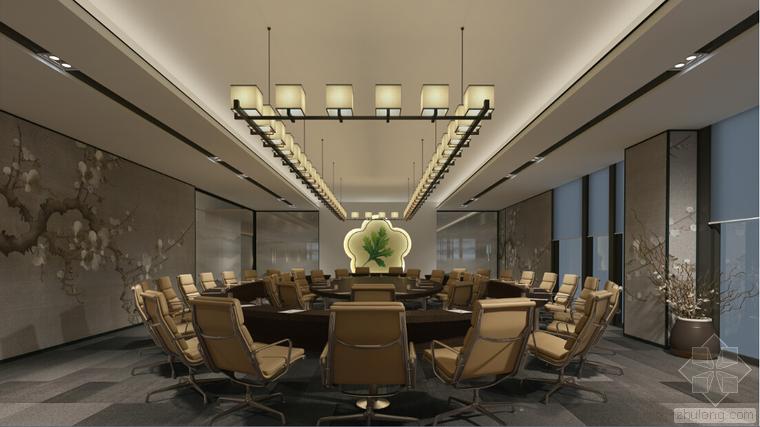 室内设计家装工装施工图及设计方案精品汇总_20