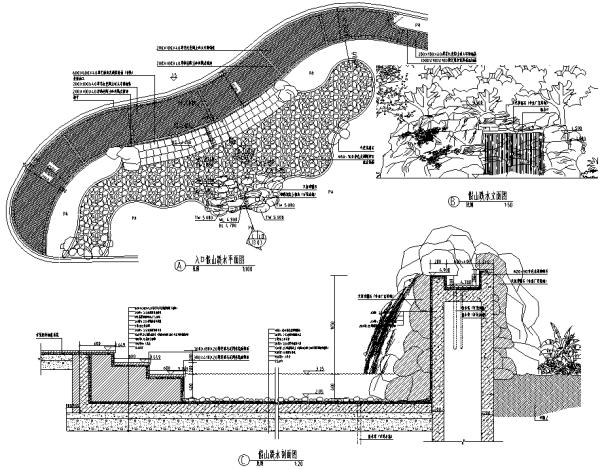 [天津]地中海式花园住宅景观设计全套施工图(附实景图)