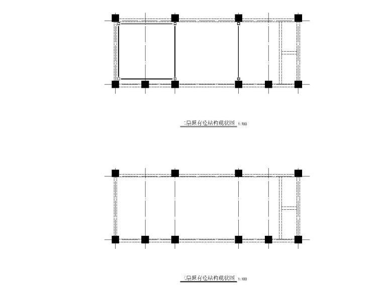 加建房屋钢结构施工图